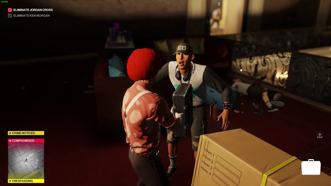 Самонаводящийся чемодан из Hitman 2 стал самым опасным и смешным оружием в игре — видео