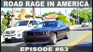 ROAD RAGE IN AMERICA #63 / BAD DRIVERS USA, CANADA / NORTH AMERICAN DRIVING FAILS