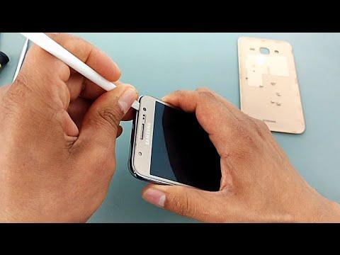 Como Desmontar Samsung Galaxy J5 SM-J500, J500M, J500F, J500H, J500B, Metal J510MN, abrir,  Reparar