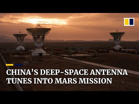 China's first deep-space antenna system supports Mars mission of Tianwen-1 probe