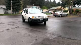 1999 Isuzu rodeo 3.2 glasspack exhaust