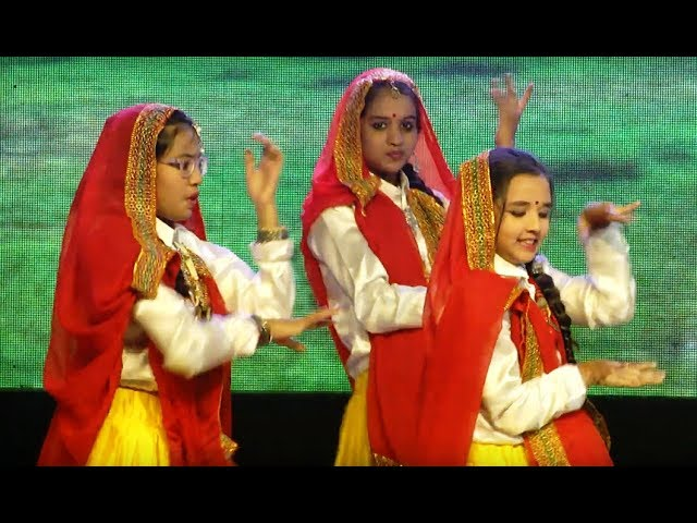 Bhojpuri Dance  - Janapriya School | 18th Annual Day