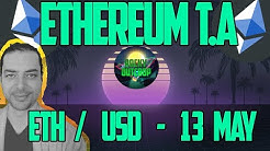 Ethereum (ETH/USD) - Daily T.A with Rocky Outcrop - May 13th Technical Analysis & Price Predictions