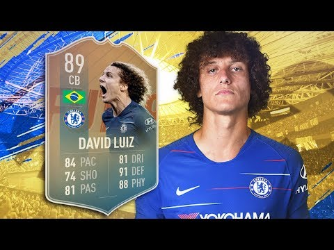 FIFA 19 Flashback Luiz Review - is he worth it? | Fifa 19 Flashback David Luiz Player Review