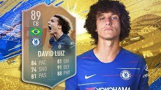 FIFA 19 Flashback Luiz Review - is he worth it? | Fifa 19 Flashback David Luiz Player Review