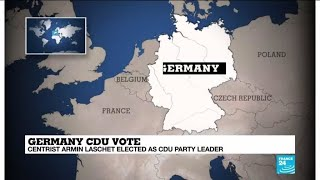 Merkel ally Armin Laschet elected new leader of Germany's CDU party