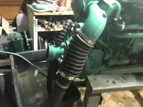 volvo tamd 30 110 ps youtube rh youtube com Volvo Penta Exhaust tamd 30 manual