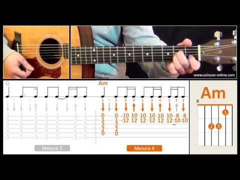 Jouer Wild Horses (The Rolling Stones) - Cours guitare. Tuto + Tab