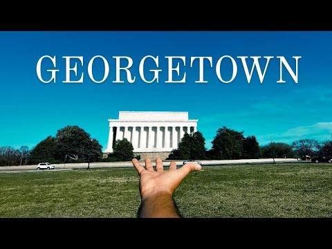 Conoce Georgetown el barrio más 'play' de Washington 🇺🇸
