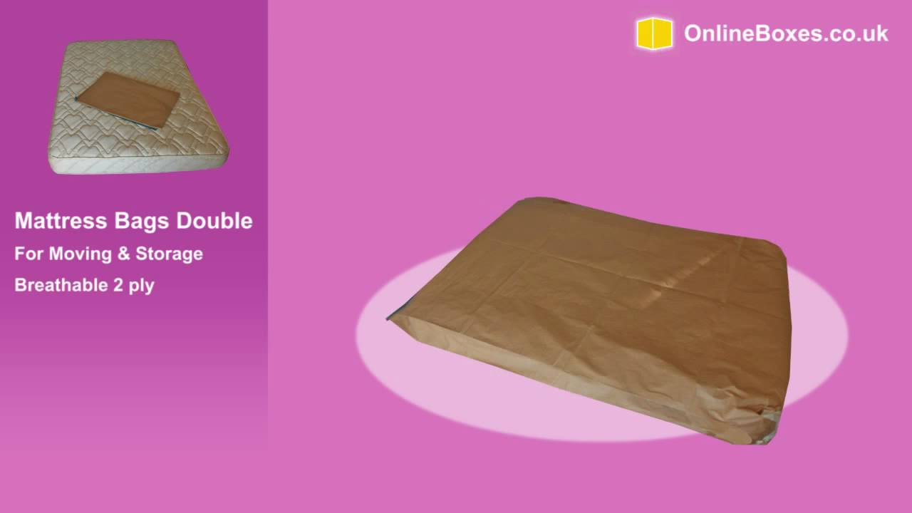 Double Mattress Bags For Moving Storage And Protection