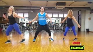Hula Hoop Daddy Yanke coreografía David Brasukas Zumba ft Rosario y Olga