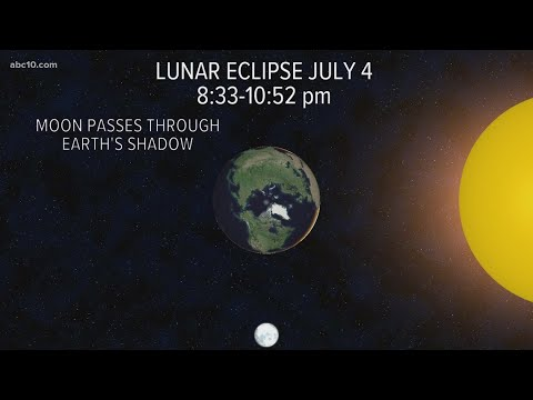 When to see the 4th of July Lunar Eclipse | Geek Lab - ABC10