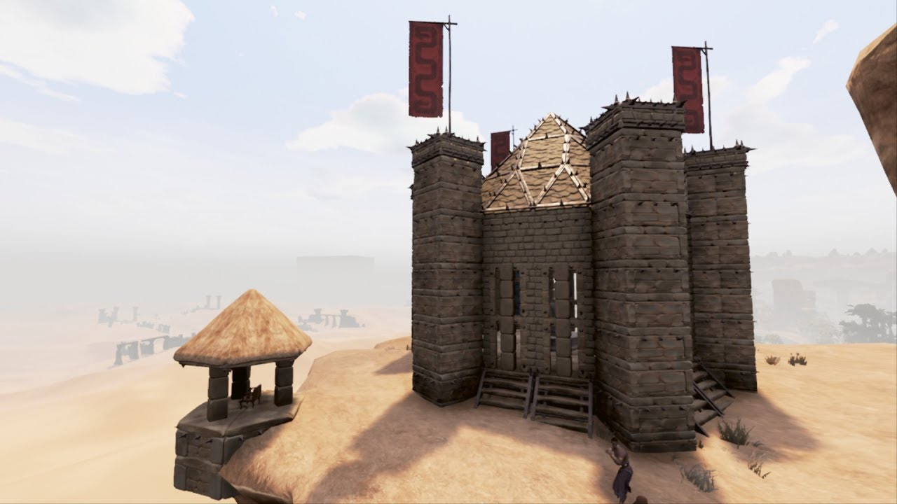Conan Exiles How To Build A Castle Doovi