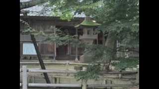 伊達政宗必勝祈願の、梁川八幡神社に行きました。