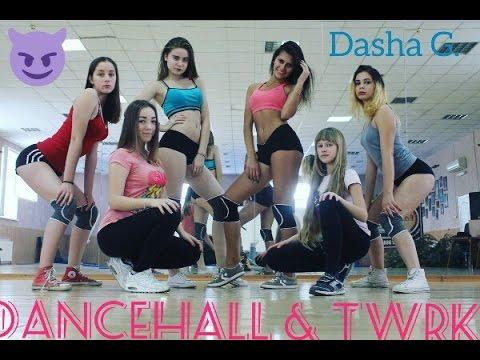 Yellow Claw - Bun It Up (feat. Beenie Man) dancehall & TWRK choreo by Dasha G.