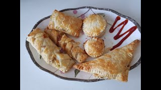 Chicken pastries | snack time pastries | easy chicken pastries recipe