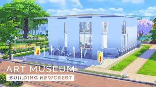 Sims 4  |  Speedbuild  |  Building Newcrest - Art Museum