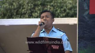 Har karam apna karenge presented by Indian Air Force Band