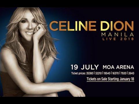 Celine Dion Live in Manila 2018 (News)