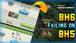 BH6 Attackers Failing on BH5 Base | Builder Base | Clash of Clans