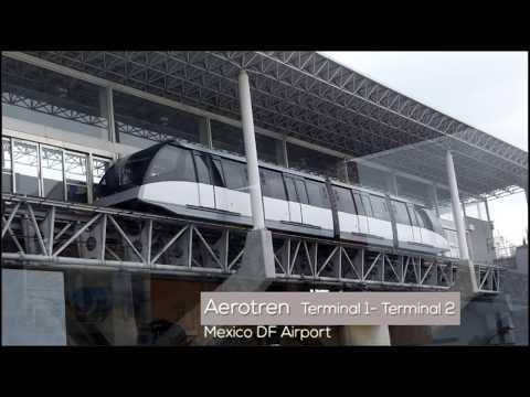 AEROTREN MEXICO DF AIRPORT -Terminal 1 to Terminal 2-