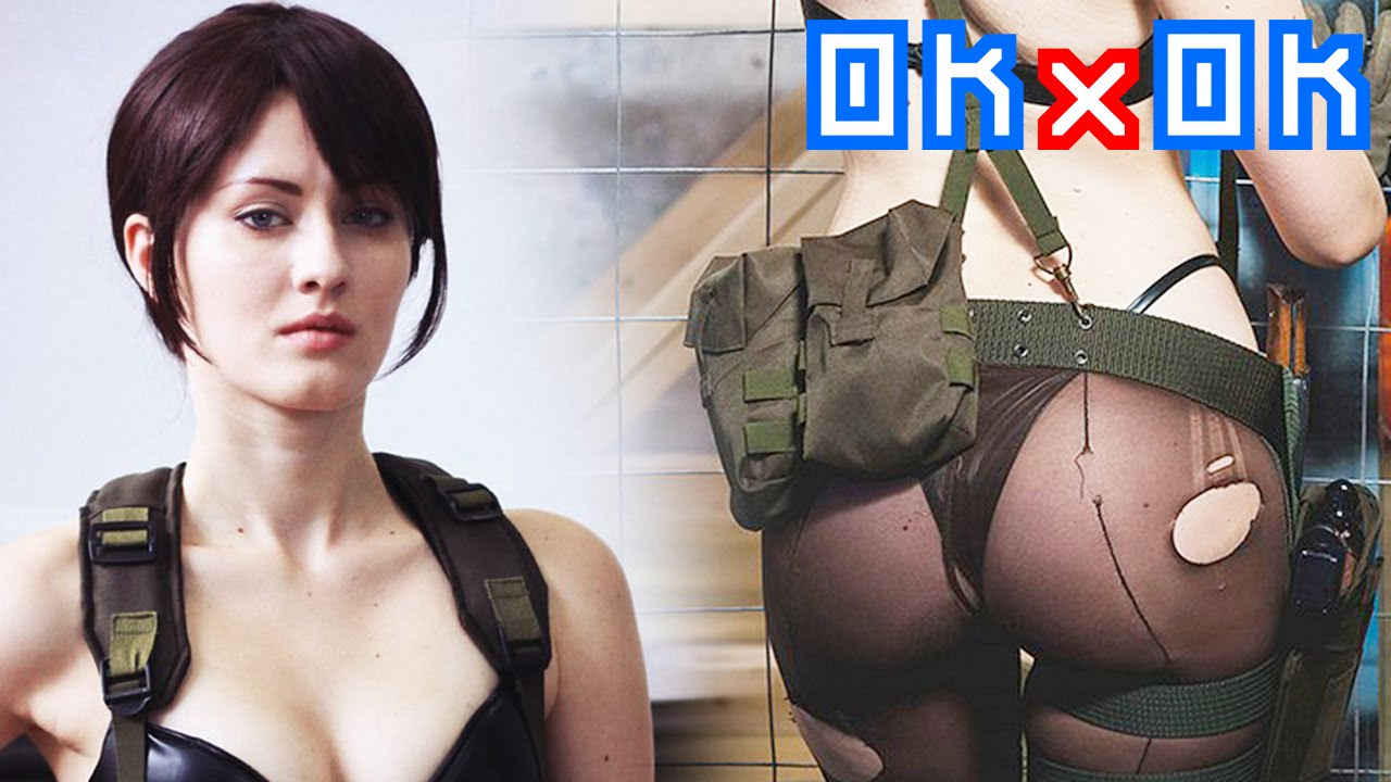 Cosplay Oniksiya Sofinikum Quiet Mgsv Fan Service Youtube