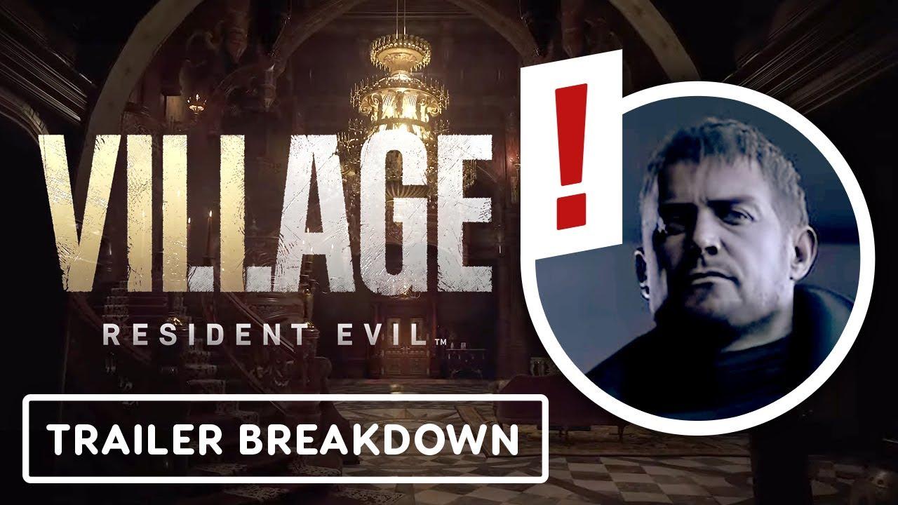 Resident Evil Village Trailer Breakdown Ign Rewind Theater Youtube