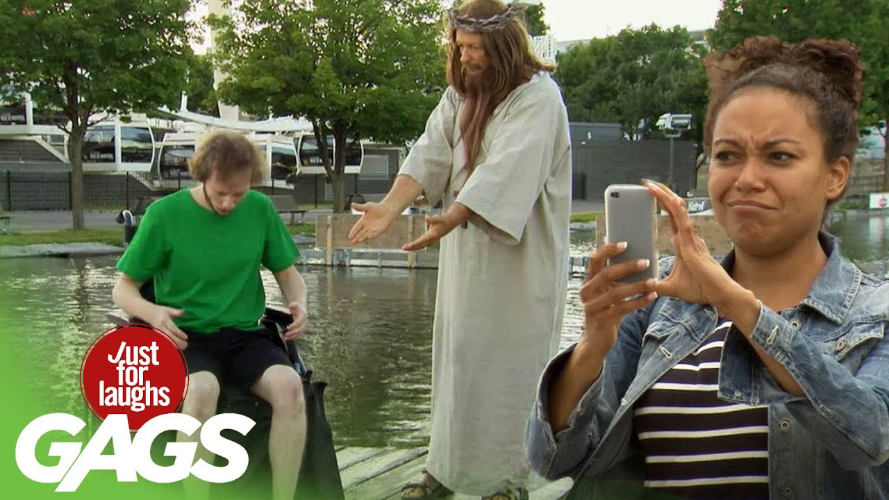 Jesus Saves a man in a Wheelchair!!