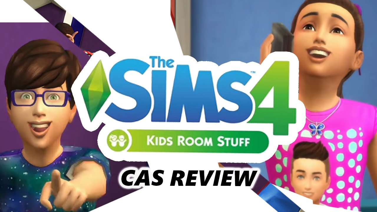 Awesome The Sims 4 Kids Room Stuff Pack | CAS REVIEW   YouTube