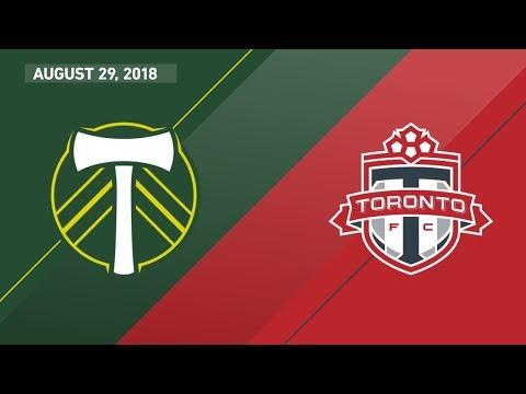 HIGHLIGHTS: Portland Timbers vs. Toronto FC | August 29, 2018