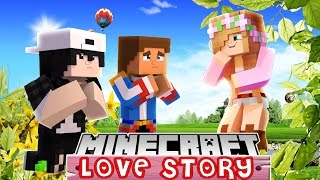 LITTLE DONNY AND RAVEN SPY ON LITTLE KELLY AND ASHLEIGH | MINECRAFT LOVE STORY  roleplay