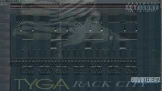 Tyga - Rack City Remix Instrumental Fl Studio Remake @Bigwhitebeatz
