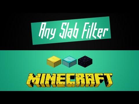 Minecraft - Create Any Slab Filter