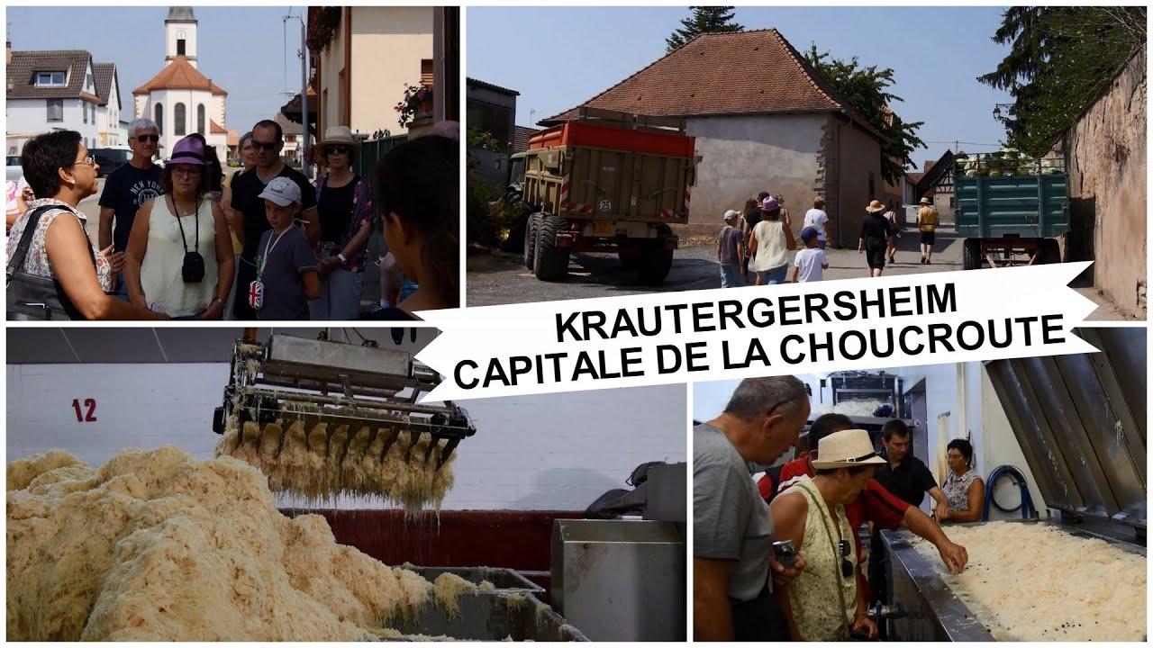 Krautergersheim capitale de la choucroute youtube - Choucroute de krautergersheim ...