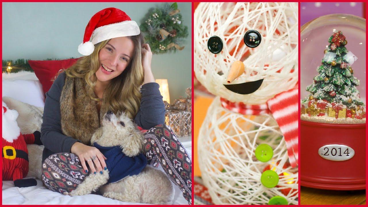 Minha decoração de Natal  dicas e faça voce mesmo!  YouTube