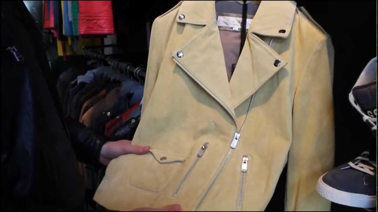 Impermeabiliser veste croute de cuir