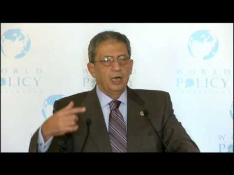 Amr Moussa - Nov 1,09 - Lunch -  2/3