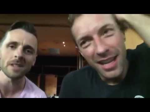 Chris Martin sings Coldplays The Scientist for couples wedding