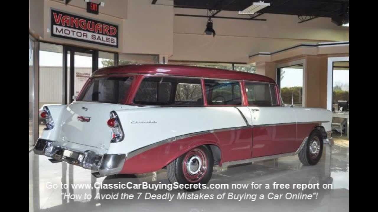 1956 chevy 210 wagon classic muscle car for sale in mi for Vanguard motors for sale
