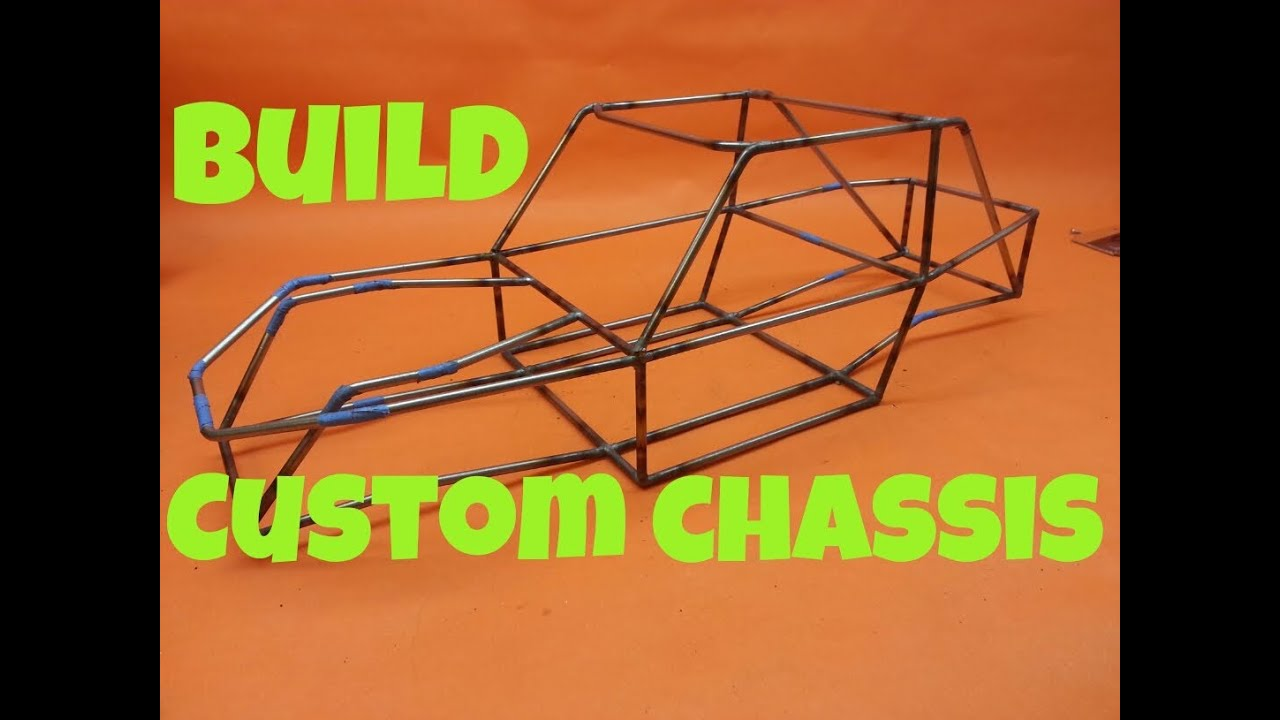 How i build my custom crawler tube chassis youtube Custom build a house online