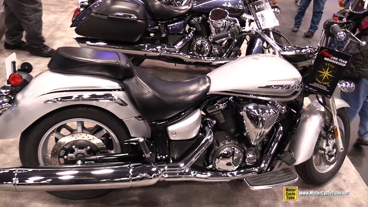 2015 Yamaha V Star 1300 Walkaround 2014 New York Motorcycle