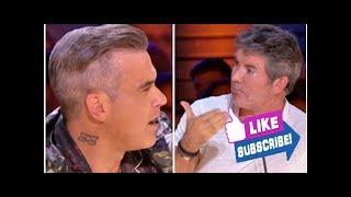 X Factor 2018: 'I'm sorry' Robbie Williams SLATES Simon Cowell's category