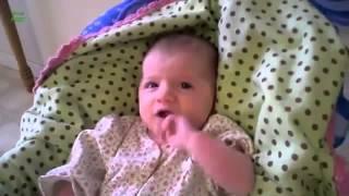 Лучшие приколы 2013  Смешные детские чихи  Funny Babies Sneezing