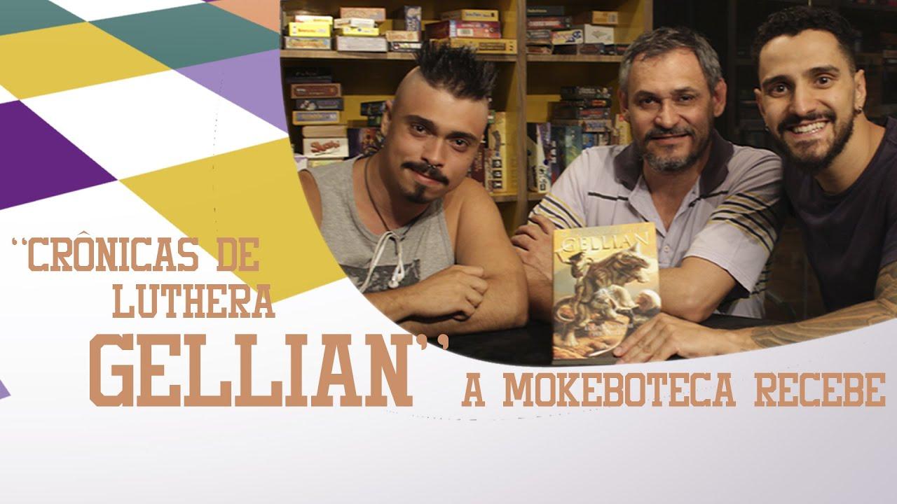 Entrevista para a Mokeboteca - Motivações para a criação do livro Crônicas de Luthera Gellian