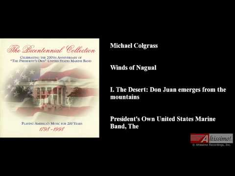 Michael Colgrass, Winds of Nagual, I. The Desert: Don Juan emerges from the mountains