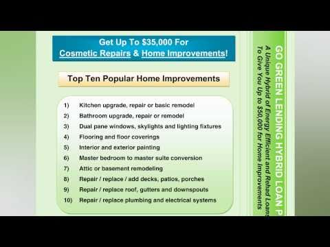 GoGreen Lending™ Consumer Guide to the Hybrid Loan Program™