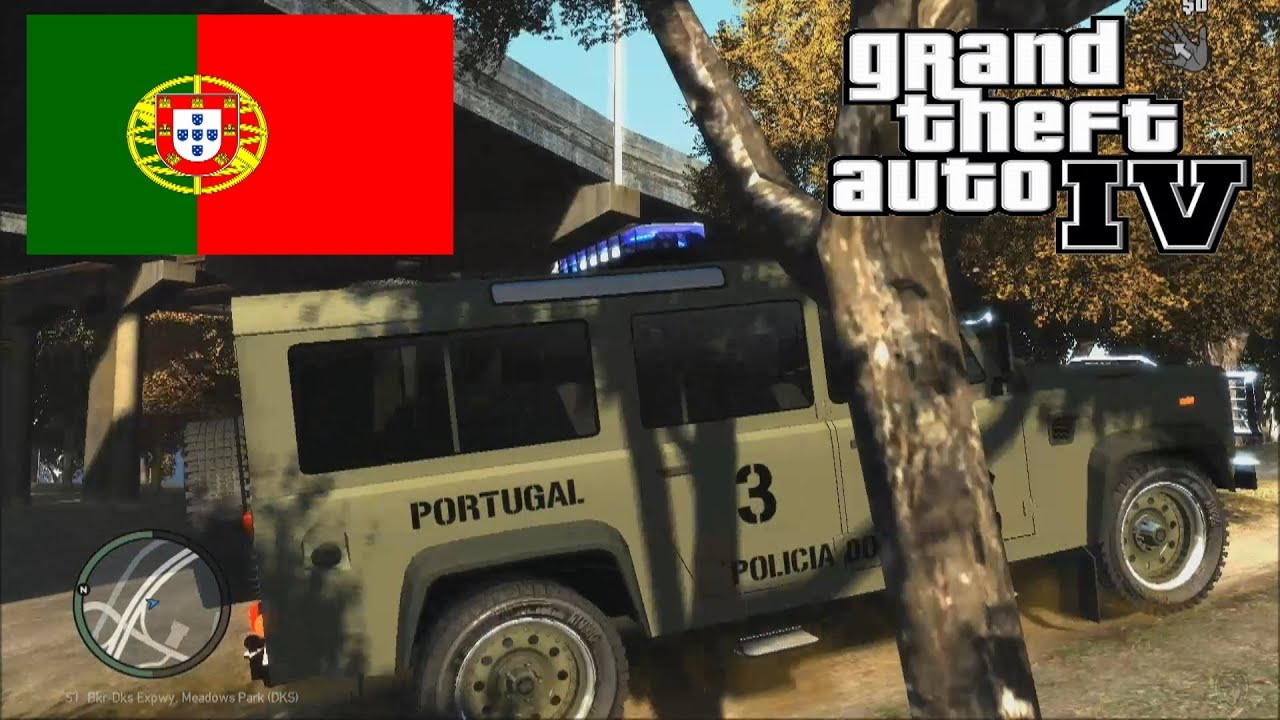 Next Land Rover Defender >> GTA 4 Portugal & USA Military Police Land Rover Defender So epic Test Drive & Mission MP - YouTube