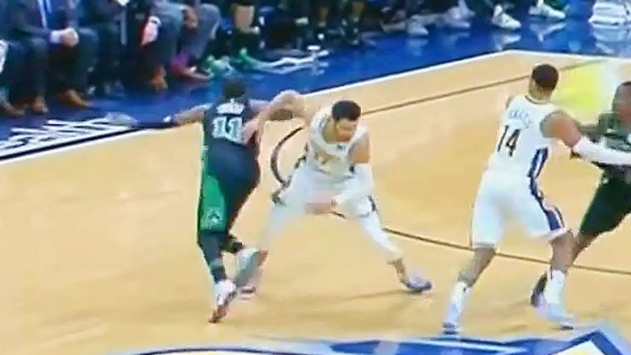 4b4891015a8a Kyrie irving Injury - Collides with Jamal Murray But Later Returns to the  Game! Celtics vs Nuggets