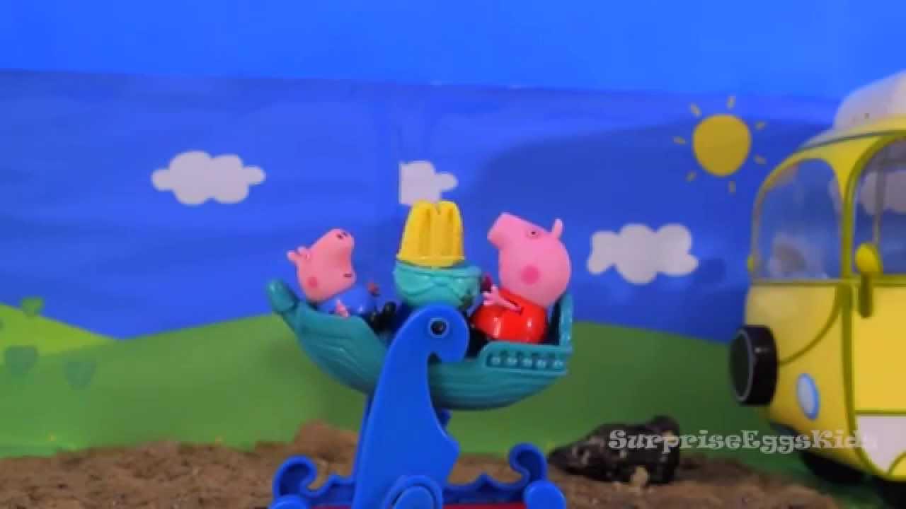 Свинка Пеппа Все серии подряд Мультик из игрушек