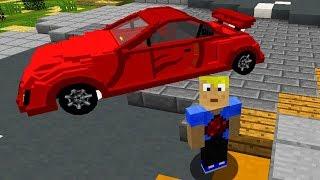 Minecraft Befehl, Minecraft Commands: SPORTWAGEN craften!